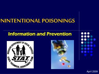 UNINTENTIONAL POISONINGS