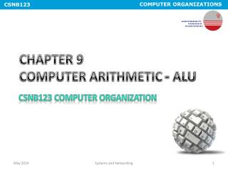 CHAPTER 9  COMPUTER ARITHMETIC - ALU