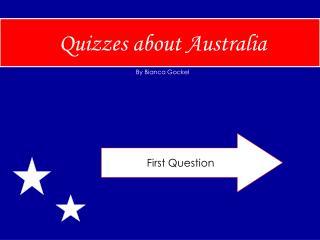 Quizzes about Australia