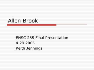 Allen Brook