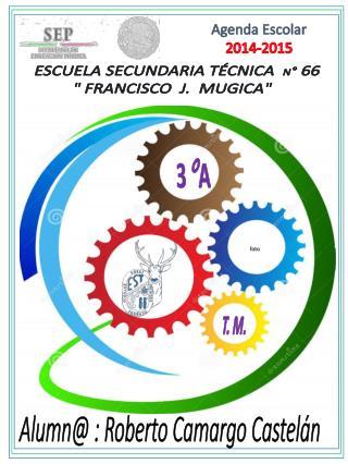 """ESCUELA SECUNDARIA TÉCNICA   N °  66 """" FRANCISCO  J.  MUGICA"""""""