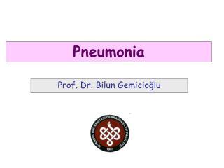 Prof. Dr. Bilun Gemicioğlu