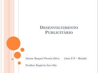 Desenvolvimento Publicitário