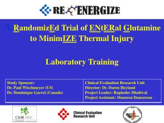 A  R andomiz E d Trial of  EN t ER al  G lutamine to Minim IZE  Thermal Injury Laboratory Training
