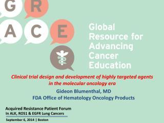 Acquired Resistance Patient Forum