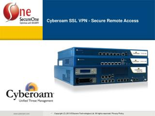 Cyberoam SSL VPN - Secure Remote Access