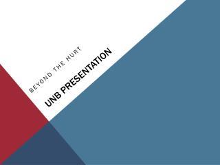 UNB Presentation