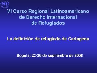 Bogot á , 22-26 de septiembre de 2008