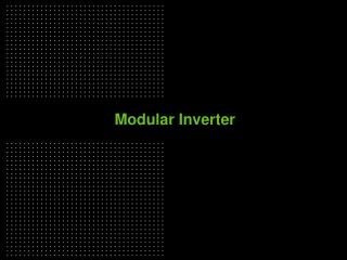 Modular Inverter