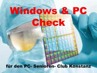 Windows & PC Check