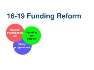 16-19 Funding Reform