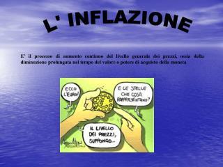 L' INFLAZIONE