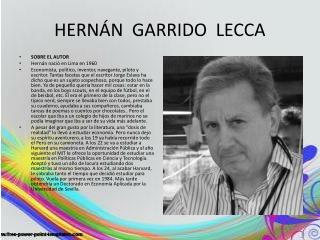 HERNÁN  GARRIDO  LECCA