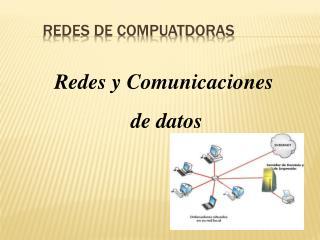REDES DE COMPUATDORAS