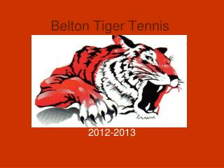 Belton Tiger Tennis