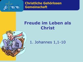 1. Johannes 1,1-10
