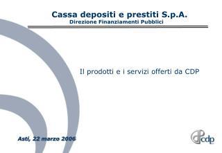 Asti, 22 marzo 2006