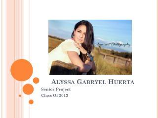 Alyssa Gabryel Huerta