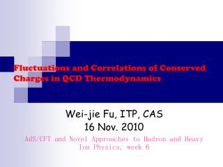 Fluctuations and Correlations of Conserved Charges in QCD Thermodynamics