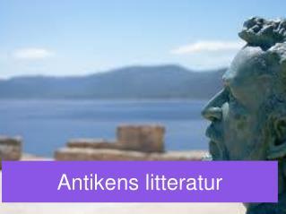 Antikens litteratur