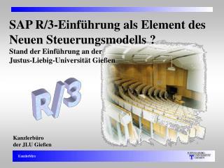 Kanzlerbüro der JLU Gießen