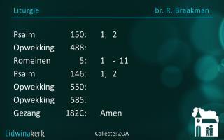 Liturgie br.  R.  Braakman