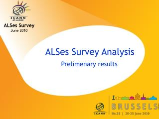 ALSes Survey Analysis