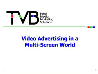 Video Advertising in a  Multi-Screen World