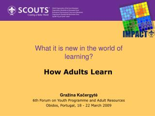 What it is new in the world of learning?
