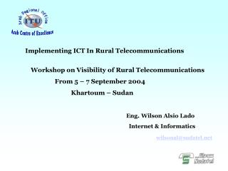 Implementing ICT In Rural Telecommunications