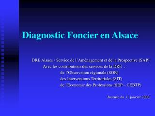 Diagnostic Foncier en Alsace