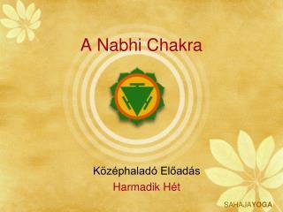 A Nabhi Chakra