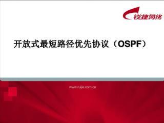 开放式最短路径优先协议( OSPF )