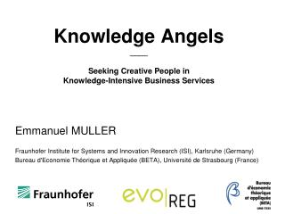 Knowledge Angels  ____ Seeking Creative People in Knowledge-Intensive Business Services