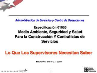 Lo Que Los Supervisores Necesitan Saber