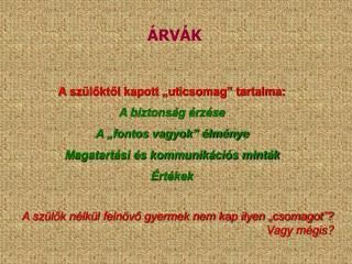 ÁRVÁK