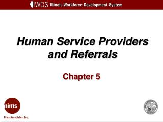 Human Service Providers and Referrals