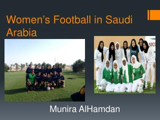 Women's Football in Saudi Arabia