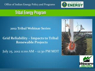 Office of Indian Energy Policy and Programs