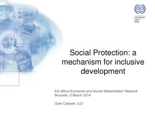 Social  Protection: a mechanism for inclusive development