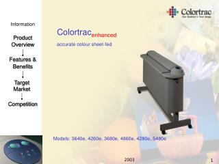 Colortrac enhanced