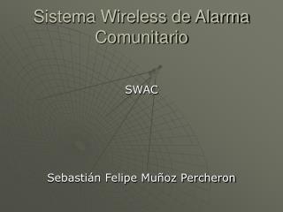Sistema Wireless de Alarma Comunitario
