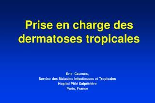 Prise en charge des dermatoses tropicales