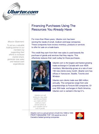 Financing Purchases Using The   Resources You Already Have
