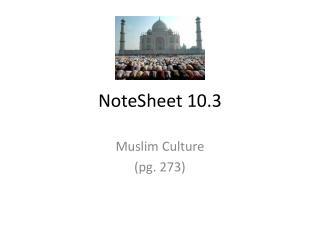NoteSheet  10.3