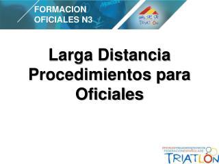 FORMACION OFICIALES N3