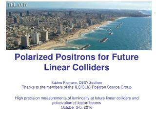 Polarized Positrons for Future  Linear Colliders