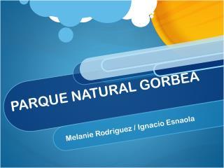 PARQUE NATURAL GORBEA