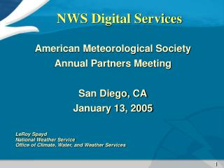 NWS Digital Services