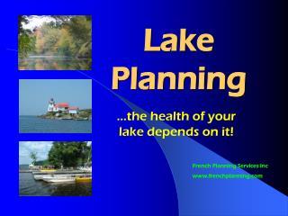 Lake Planning